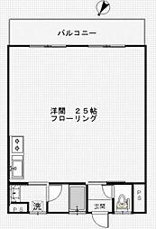 谷本ビル[306号室号室]の間取り