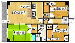 サンドマーニ 2号館[2階]の間取り