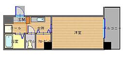 長崎県長崎市丸山町の賃貸マンションの間取り