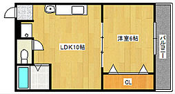 G-maison[4階]の間取り