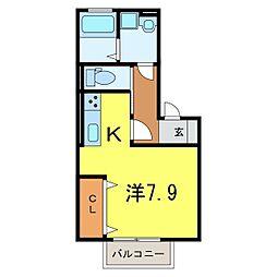 仮)D-room今池町[0202号室]の間取り