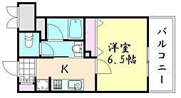 Fujiman北山町[703号室]の間取り