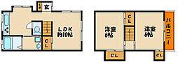 [タウンハウス] 兵庫県明石市和坂1丁目 の賃貸【兵庫県 / 明石市】の間取り