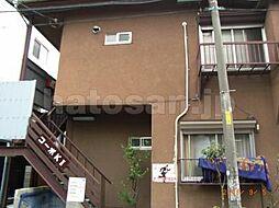 東京都板橋区南常盤台2丁目の賃貸アパートの外観