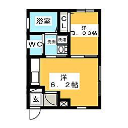 Lien[3階]の間取り