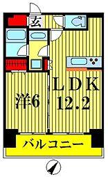 プレール・ドゥーク押上IV[10階]の間取り