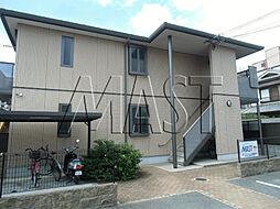 大阪府東大阪市島之内2の賃貸マンションの外観