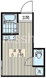 7575-PEACE-CUBE[1階]の間取り