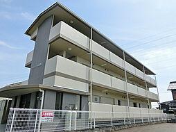 滋賀県蒲生郡日野町松尾1丁目の賃貸マンションの外観