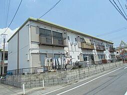 江北フラワーハイツA[101号室]の外観