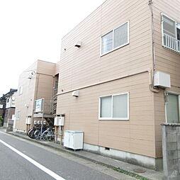 新潟県新潟市中央区堀之内南2丁目の賃貸アパートの外観