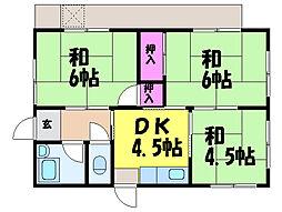 [一戸建] 愛媛県松山市星岡3丁目 の賃貸【/】の間取り