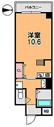 フレアコート奈良[3階]の間取り