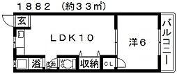和田マンション[105号室号室]の間取り