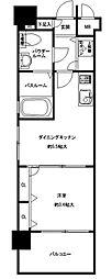 F・PARC西新[4階]の間取り