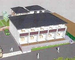 GRANDIR KASHIWATANAKA E棟[102号室]の外観