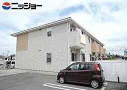 三重県鈴鹿市道伯5丁目の賃貸アパートの外観