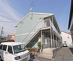 京都府京都市伏見区竹田七瀬川町の賃貸アパートの外観