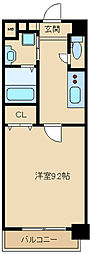 Cozy CourtIII[5階]の間取り