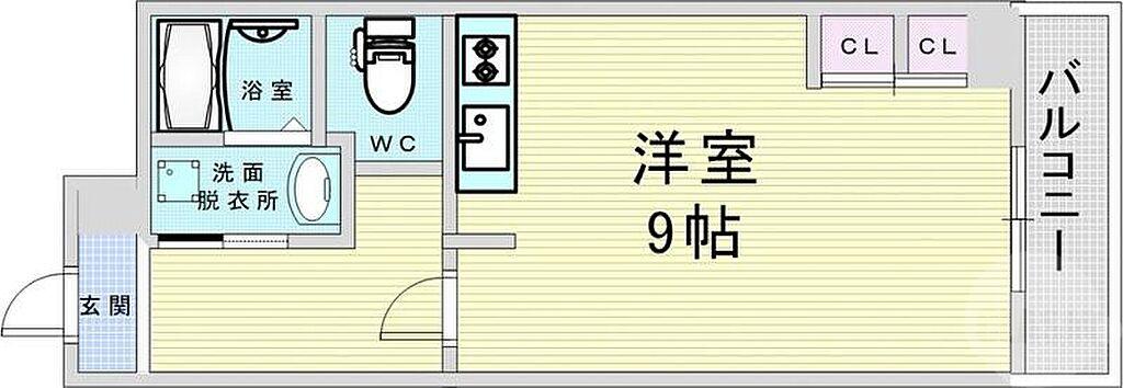 間取り(大阪市北区中崎西1 トーカンマンション東梅田)