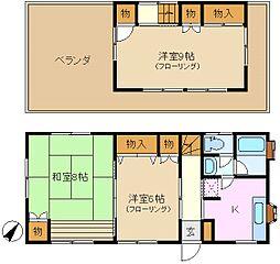 [一戸建] 神奈川県横浜市緑区東本郷1丁目 の賃貸【/】の間取り