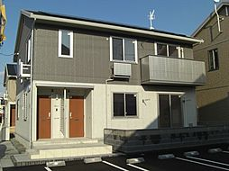 広島県福山市川口町5丁目の賃貸アパートの外観