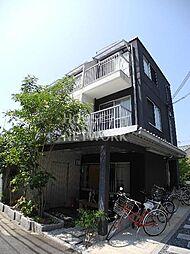 京都府京都市左京区北白川仕伏町の賃貸マンションの外観