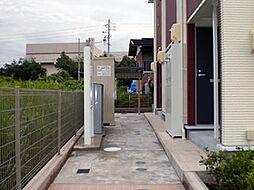 愛知県名古屋市守山区大字下志段味字新林の賃貸アパートの外観