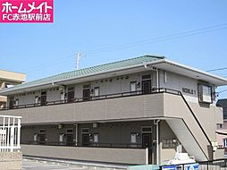 愛知県みよし市黒笹いずみ1丁目の賃貸アパートの外観