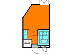 レッツ・スカラYOKO[2階]の間取り