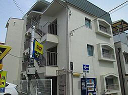 兵庫県神戸市中央区旗塚通5丁目の賃貸マンションの外観