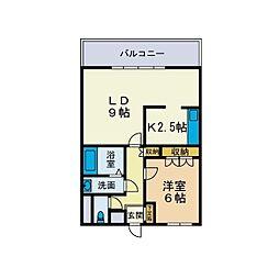 サンコートII[2階]の間取り
