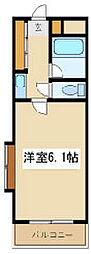 ハビタビリス2[1階]の間取り