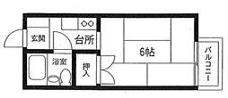 ハイムさんきパート6[2階]の間取り