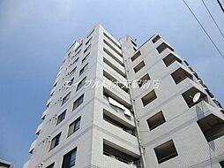 岡山県岡山市北区東古松4丁目の賃貸マンションの外観