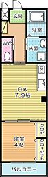 CIEL・BLEU(シエルブルー)A[205号室]の間取り
