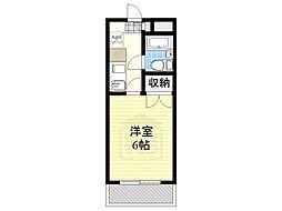 愛知県名古屋市千種区楠元町1丁目の賃貸マンションの間取り