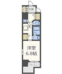 エイペックス梅田東Ⅱ[11階]の間取り