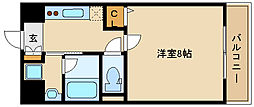 モン・ルポー[5階]の間取り