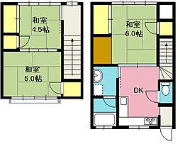 [テラスハウス] 埼玉県北本市中央1丁目 の賃貸【/】の間取り