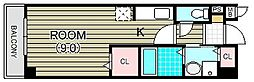 ベル アルモニー1番館[2階]の間取り