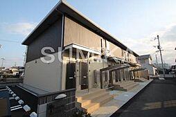 岡山県岡山市北区北方3丁目の賃貸アパートの外観