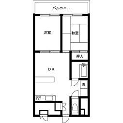 アルテール新宿[0507号室]の間取り