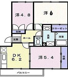グランディール矢三[3階]の外観