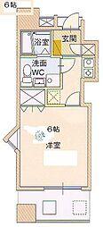 サングレートESAKA2[8階]の間取り