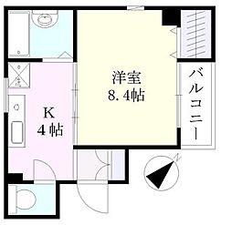 M・5th[1階]の間取り