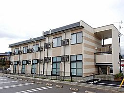 長野県松本市筑摩1丁目の賃貸アパートの外観