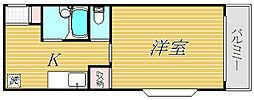 AIマンション[4階]の間取り