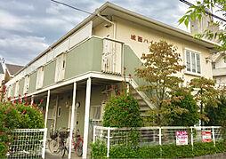 大阪府高槻市城西町の賃貸アパートの外観