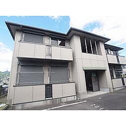 静岡県静岡市清水区蜂ケ谷の賃貸アパートの外観